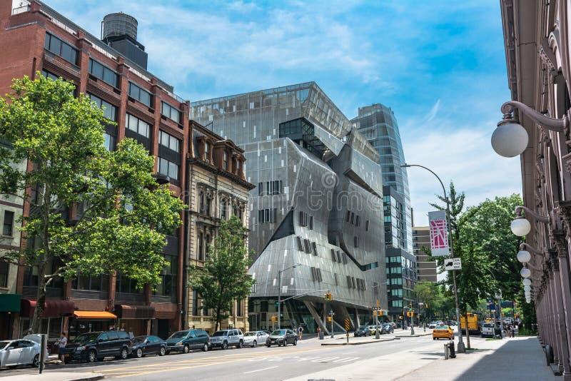 Punto di vista del bottaio Square, Manhattan, NYC immagini stock