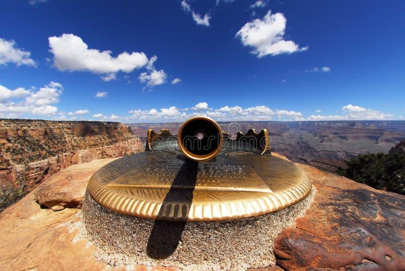 Punto di vista del grande canyon fotografia stock libera da diritti