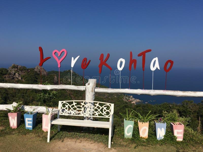 Punto di vista del KOH di amore immagini stock libere da diritti