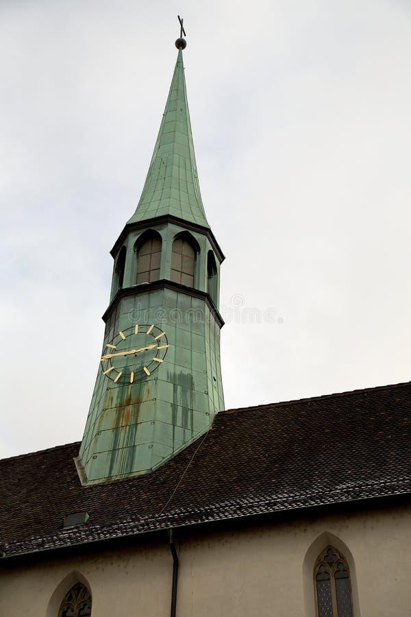 Punto di vista del turista di Zurigo fotografie stock