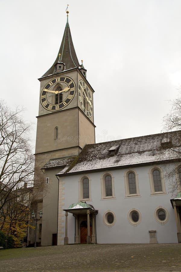Punto di vista del turista di Zurigo immagini stock