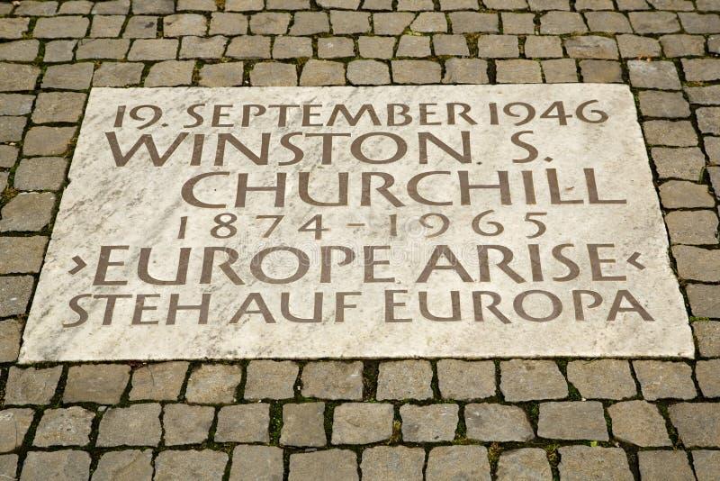 Punto di vista del turista di Zurigo immagini stock libere da diritti