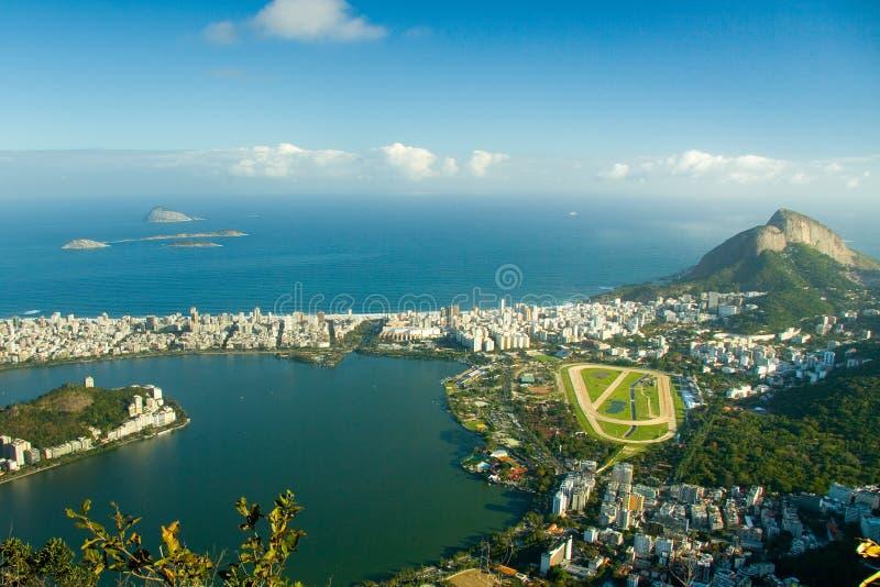 Club di puleggia tenditrice in Rio de Janeiro fotografia stock