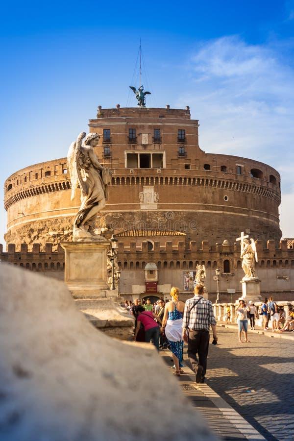 Download Punto Di Vista Di Castel Sant ' Angelo, Roma Immagine Editoriale - Immagine di preso, mentre: 56884105