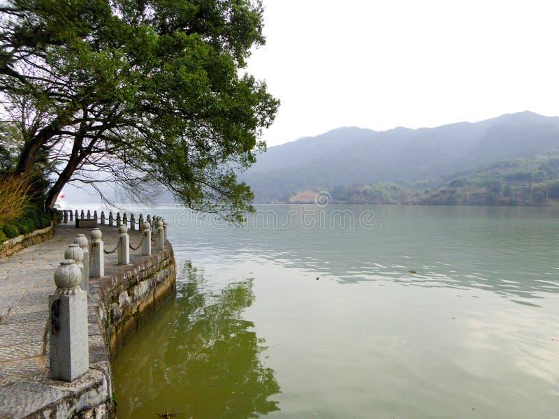 Punto di vista di Fu Chun River fotografie stock