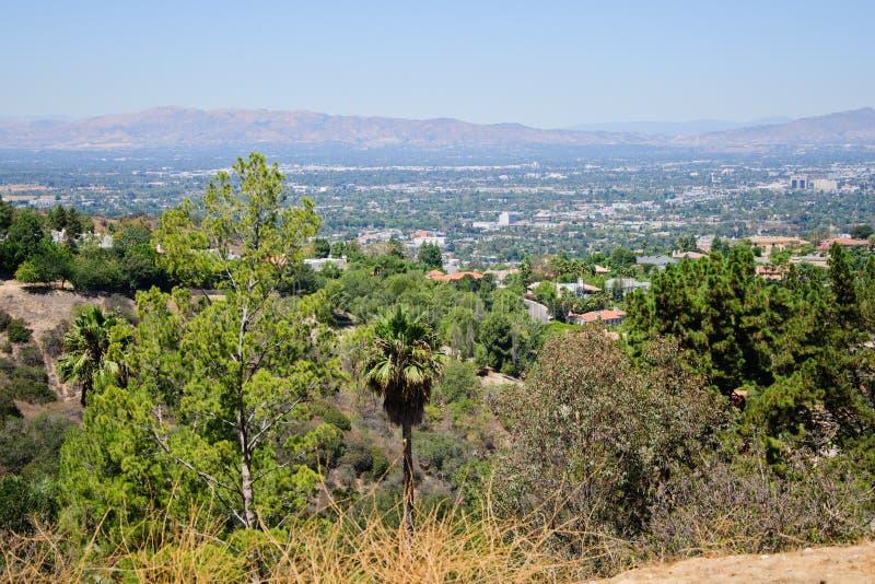 Punto di vista di Losa Angeles immagine stock