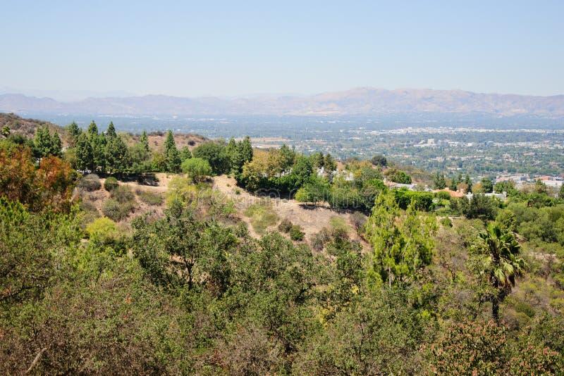 Punto di vista di Losa Angeles fotografia stock