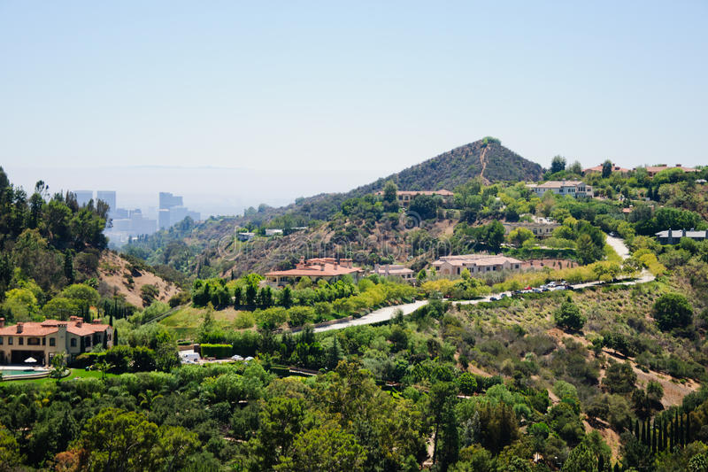 Punto di vista di Losa Angeles fotografie stock