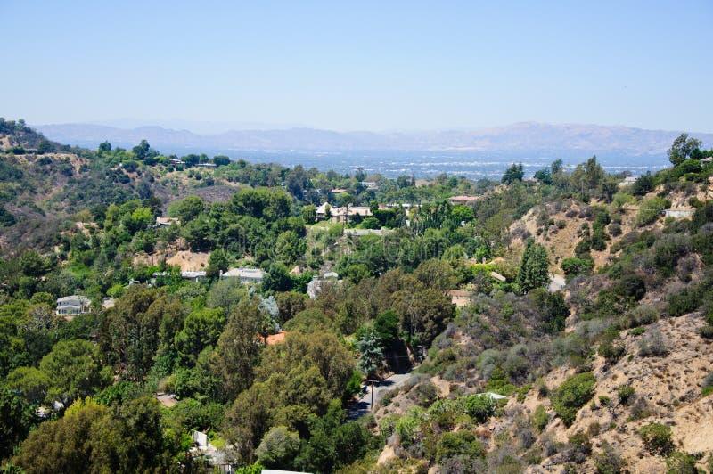 Punto di vista di Losa Angeles fotografia stock libera da diritti