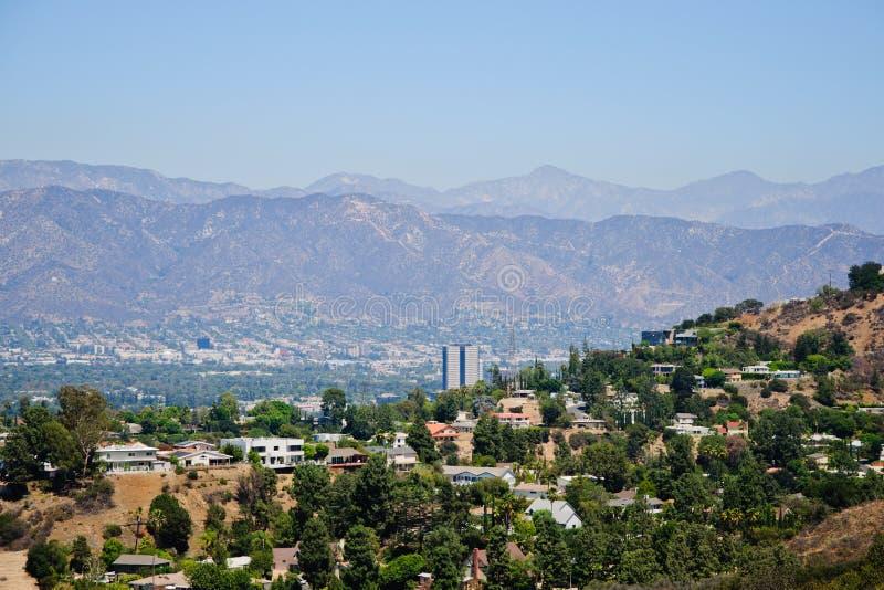 Punto di vista di Losa Angeles fotografie stock libere da diritti