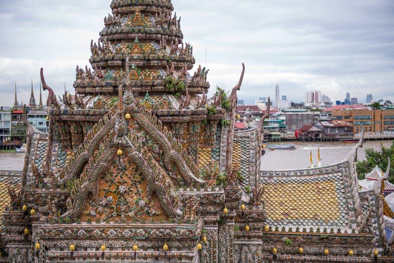 Punto di vista di Wat Arun fotografia stock libera da diritti