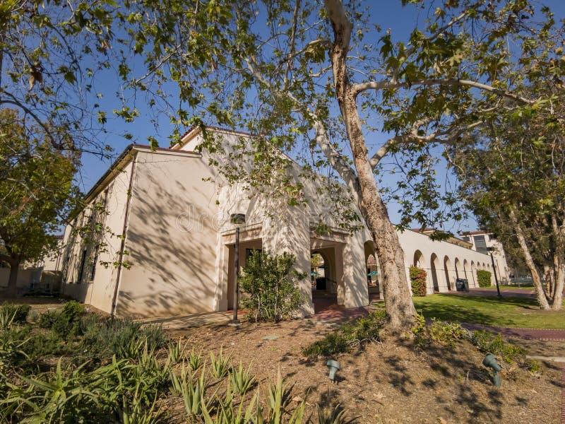 Punto di vista esteriore di Avery House in Caltech immagini stock libere da diritti