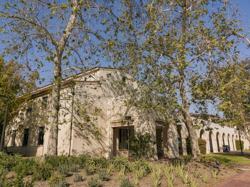 Punto di vista esteriore di Avery House in Caltech fotografie stock libere da diritti