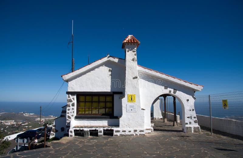 Punto di vista - Pico Bandama fotografie stock libere da diritti