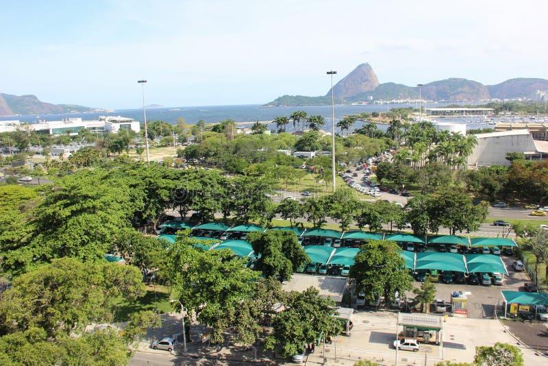 Punto di vista superiore di Rio de Janeiro fotografie stock libere da diritti
