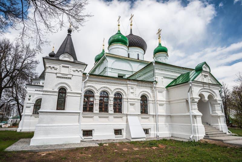 Punto di vista vicino di Feodor Studit Cathedral immagini stock libere da diritti