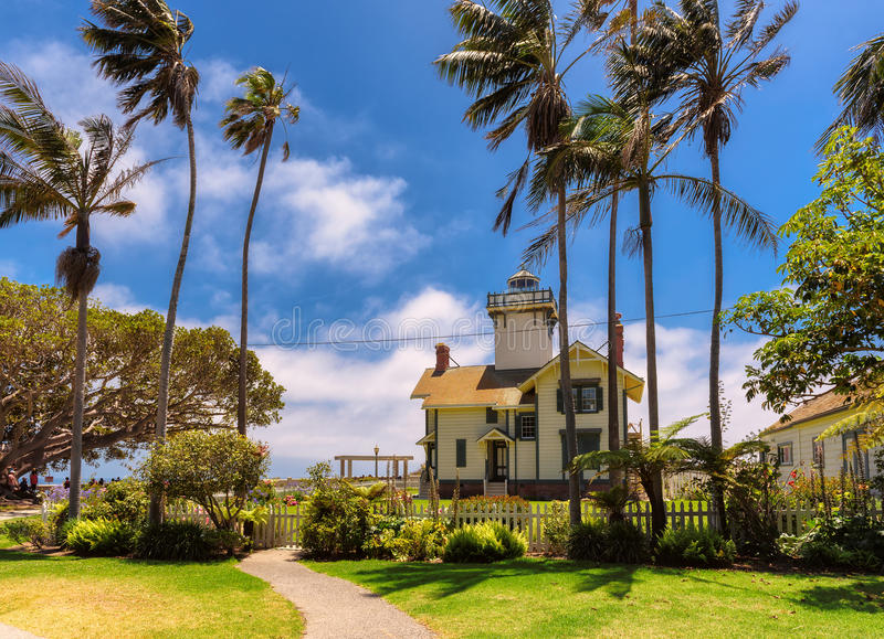 Punto Fermin Lighthouse immagini stock