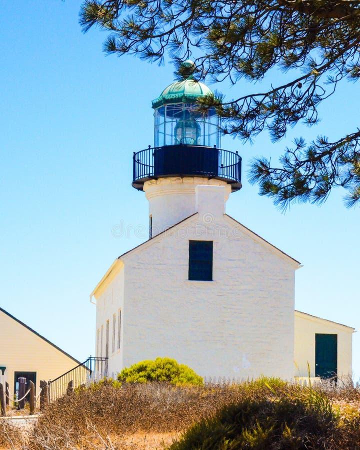 Punto Loma Lighthouse imagenes de archivo