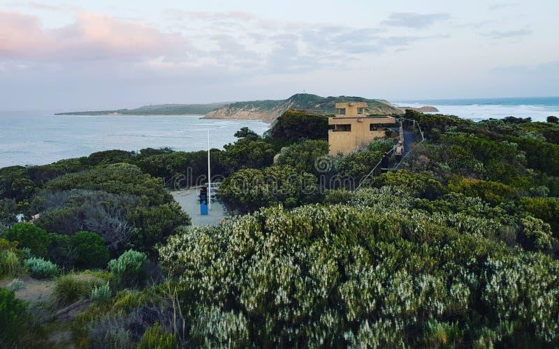 Punto Nepean, penisola Victoria di Mornington fotografia stock
