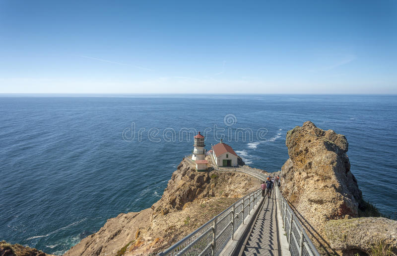 Punto Reyes Lighthouse fotografia stock