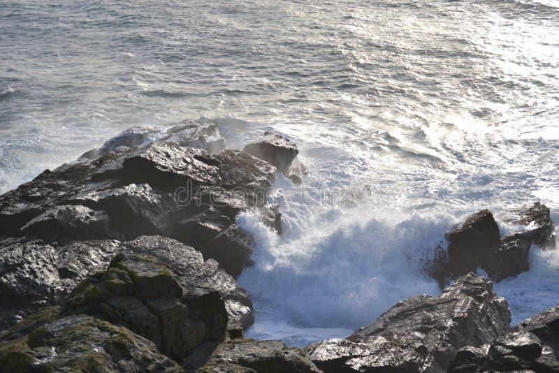 Punto St Ives della lucertola fotografia stock