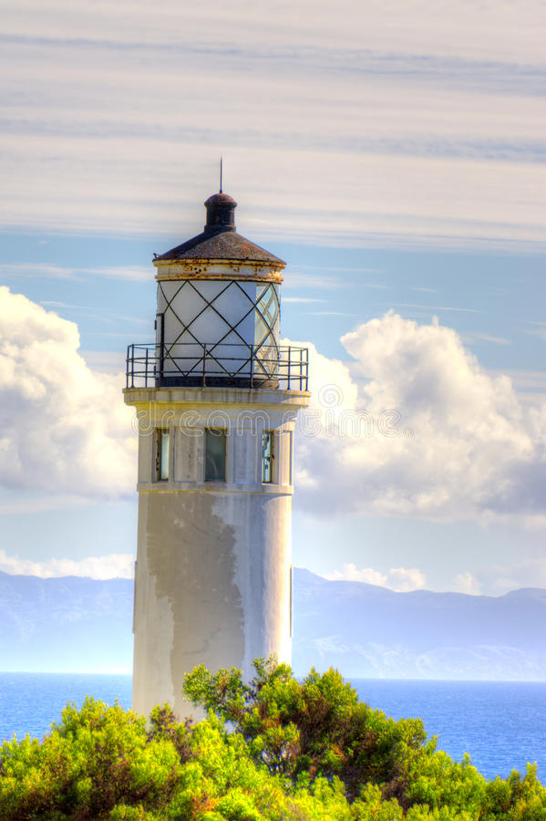 Punto Vicente Lighthouse en vertical fotografía de archivo libre de regalías