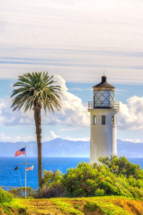 Punto Vicente Lighthouse en vertical fotos de archivo