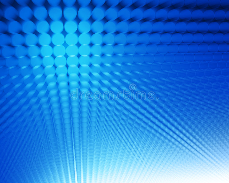 Puntos azules abstractos stock de ilustración