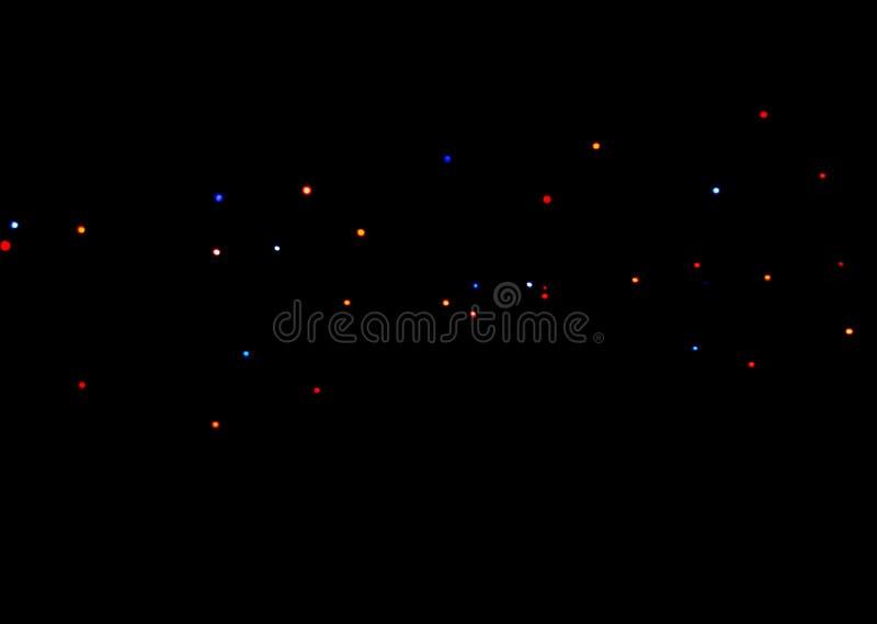 Puntos de la luz fotografía de archivo libre de regalías