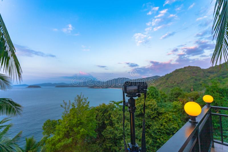 3 puntos de vista a la playa son los lugares más populares de Phuket fotografía de archivo
