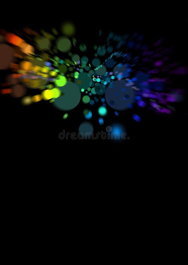 Puntos del arco iris libre illustration