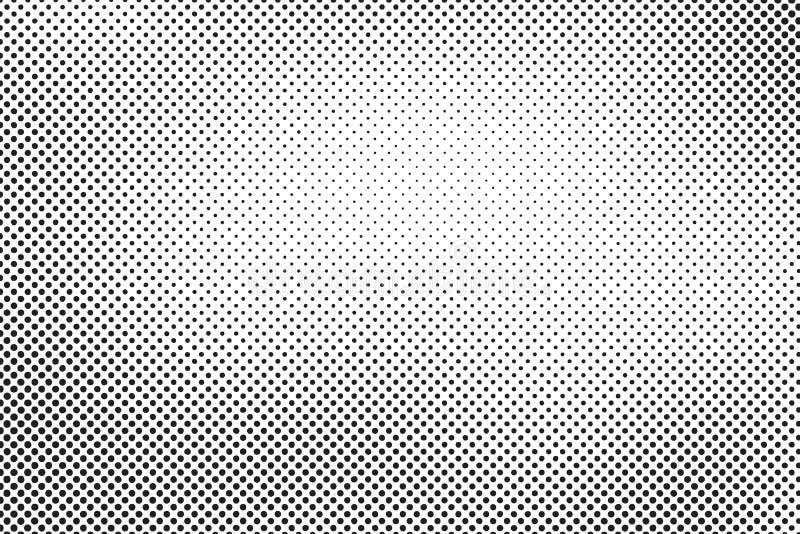 Puntos del tono medio del vector ilustración del vector