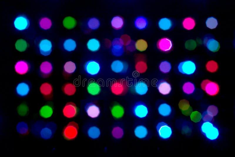 Puntos multicolores fotografía de archivo