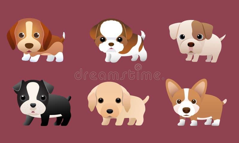 Pup1 illustrazione di stock