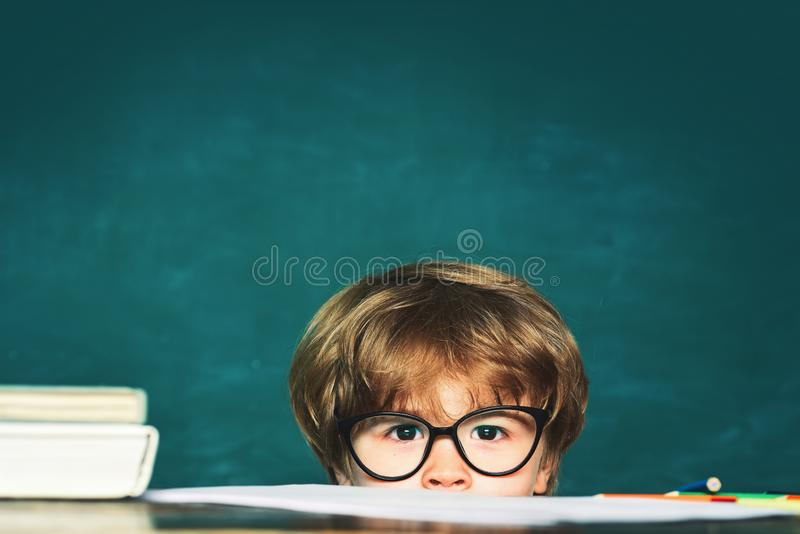 Pupil is not Ready for school. Little children getting bullied in school. School bullying. stock images