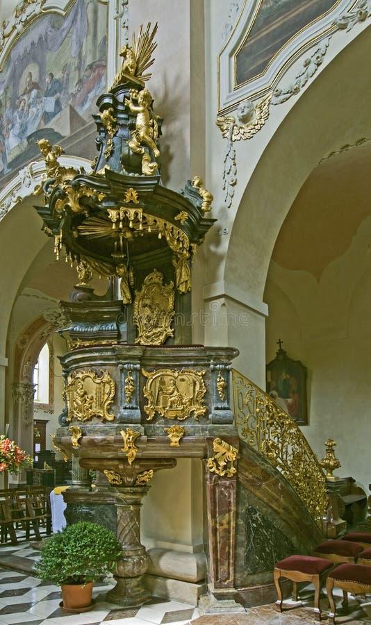 Pupitre baroque images stock