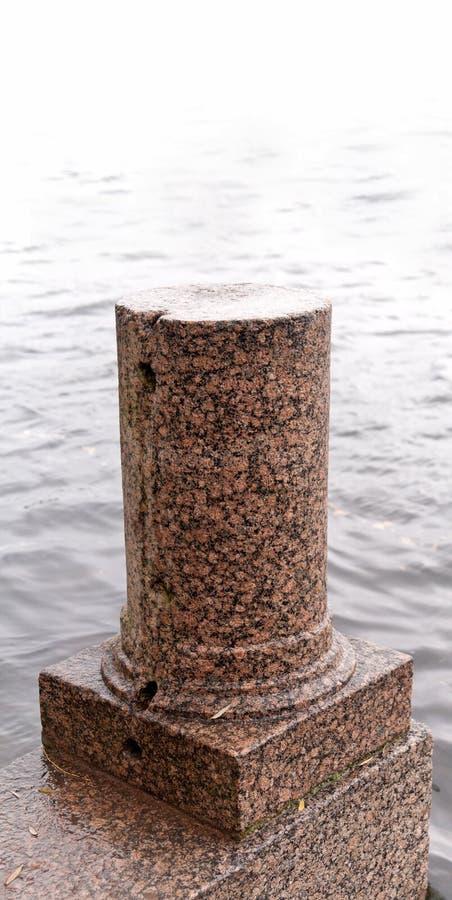 Pupitre de base de fléau de granit images libres de droits