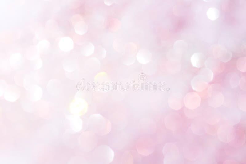 Puple i biały miękkich świateł abstrakta tło obrazy royalty free