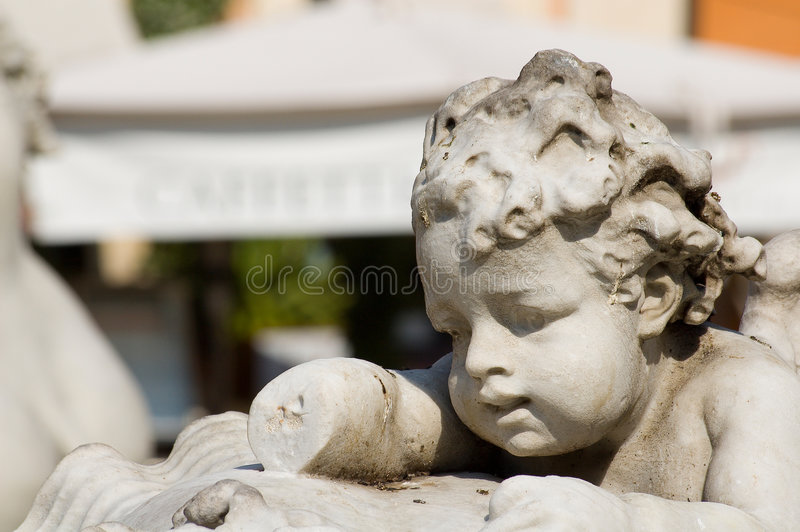 Download Pupo statue stock image. Image of crafted, children, hand - 2735877