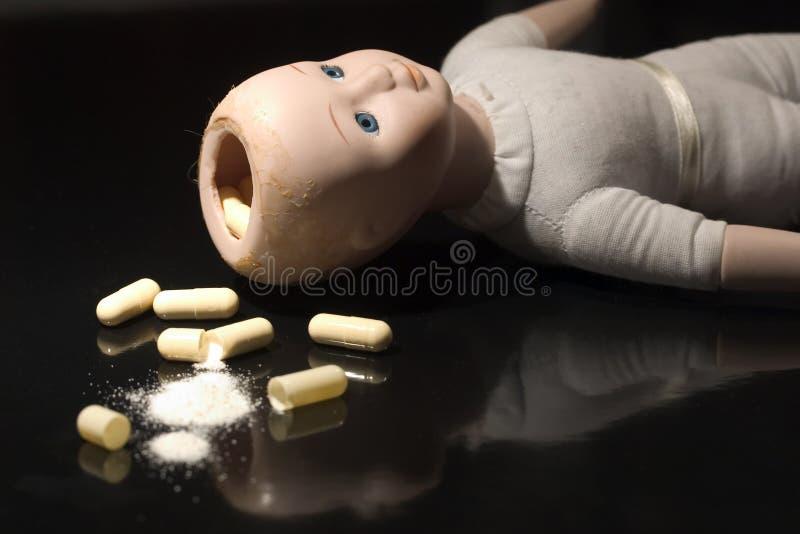 Puppe-Eilbote lizenzfreies stockfoto