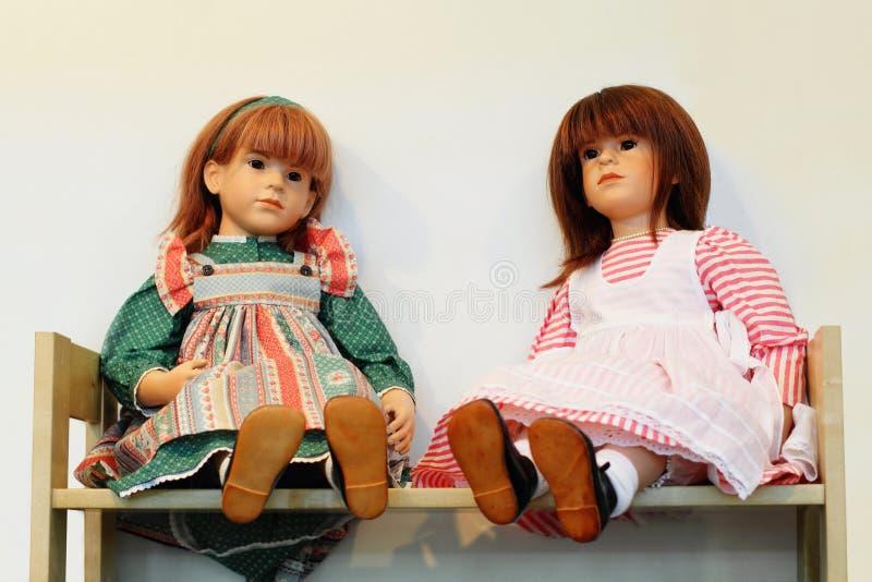 Puppen stockbild