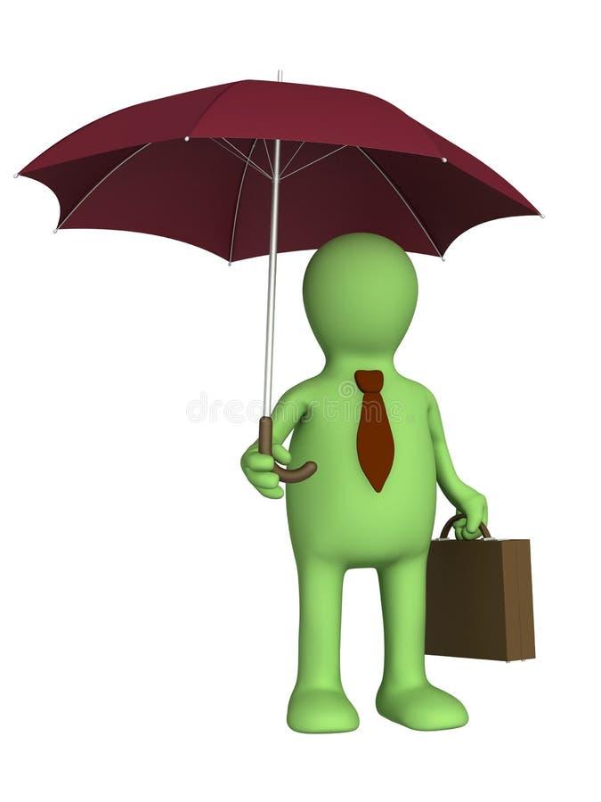 Puppet - Businessman Stock Photo