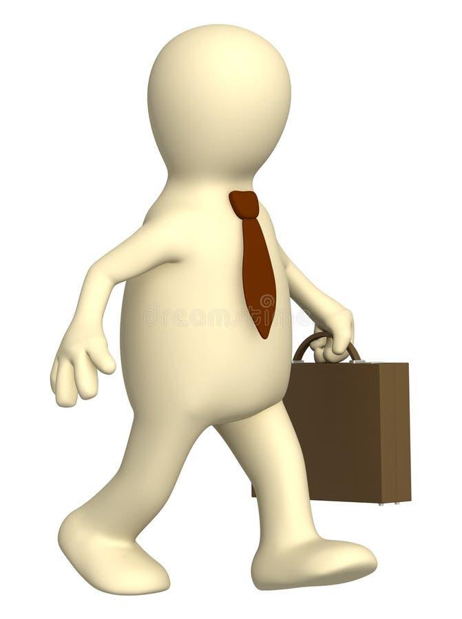 Puppet - Businessman Stock Images