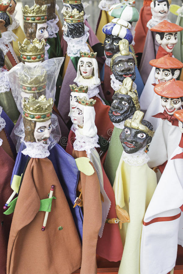 Puppet Kings royalty free stock images