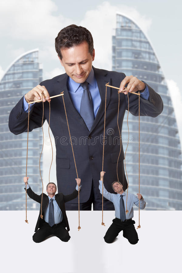 Puppeteer stock photography
