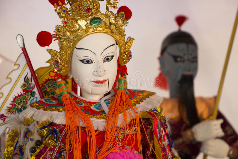 Puppetry. Show in chiangmai thailand royalty free stock photography