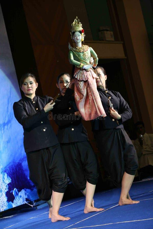 Puppetry tailandés fotografía de archivo