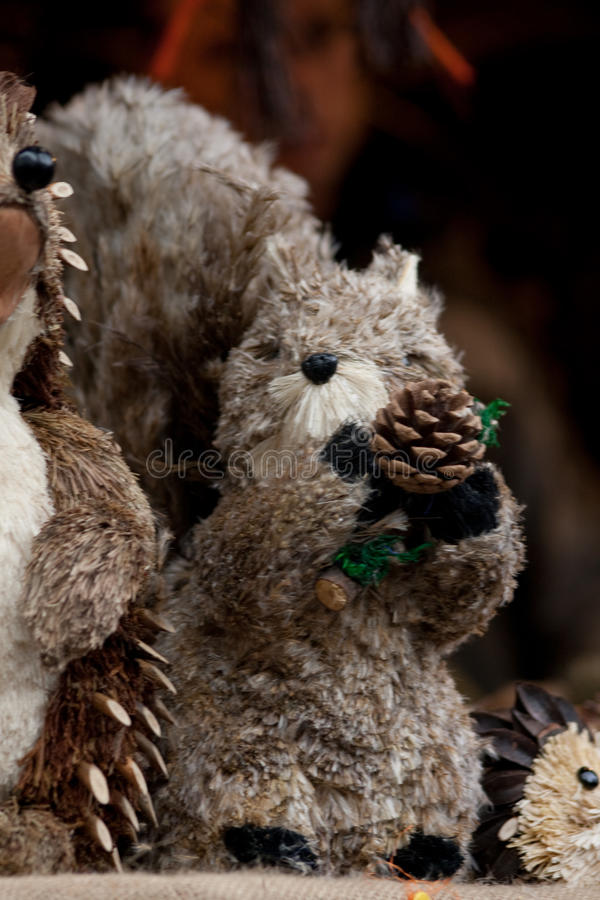 Download Puppets stock image. Image of wood, grass, hedgehog, dormouse - 12122123