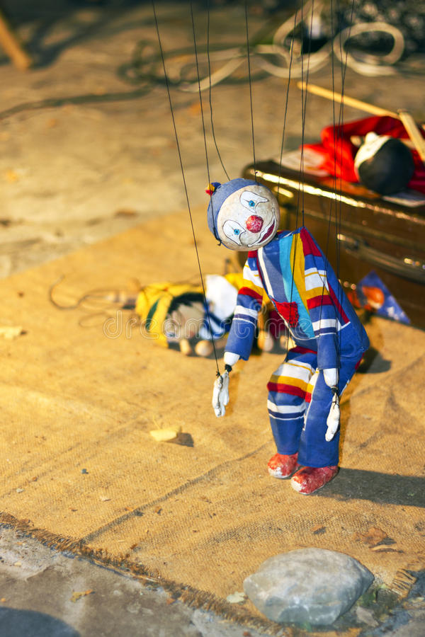 Download Puppets In The Street Performance Stock Image - Image of punch, music: 26458013