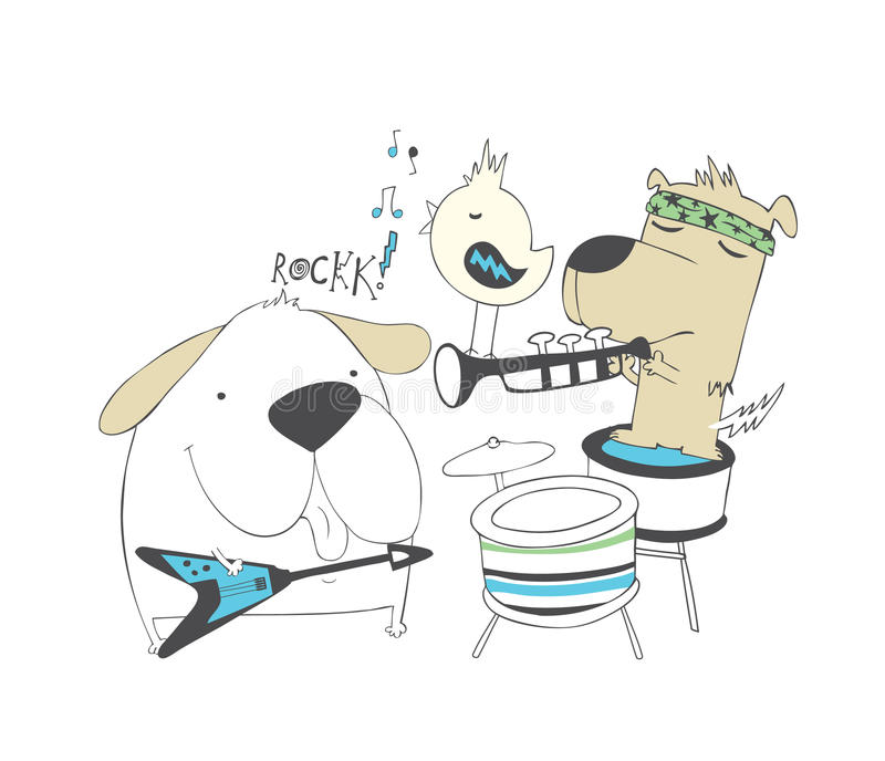 Puppies rock band